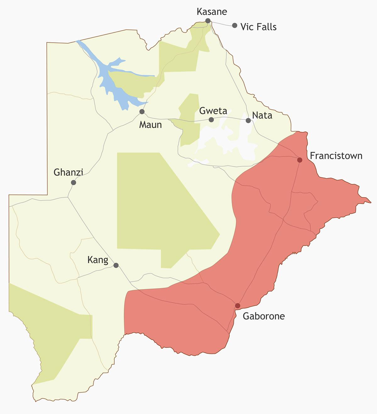 Eastern Botswana region - Accommodation, activities and ... on orapa map, algiers map, sejong city map, phakalane map, lagos map, nairobi map, bujumbura map, juba map, lobamba map, chiredzi map, kanye map, lilongwe map, botswana map, sowa map, johannesburg map, goba map, windhoek map, marondera map, kinshasa map, mogadishu map,